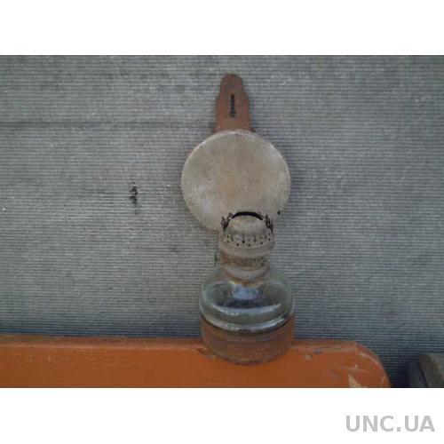 Керосиновая лампа - стеклянная колба - СССР