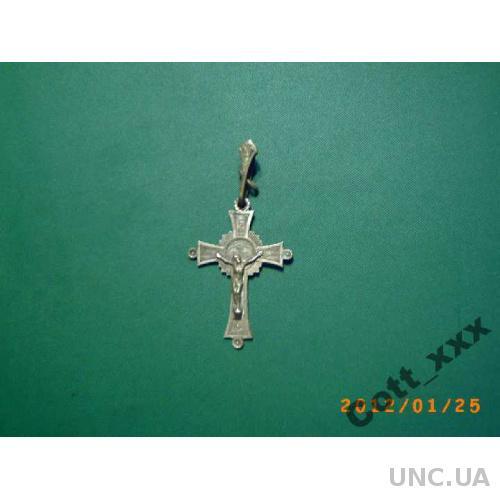 Нательный крест - конец Х1Х - начало ХХ века