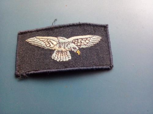Старая Нарукавная нашивка - Англия - ВВС - ( RAF ) - редкость. Б/У.