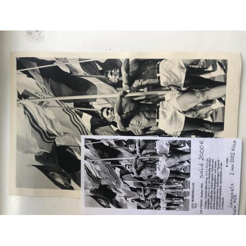 Парад  спортсменов 1956      Москва