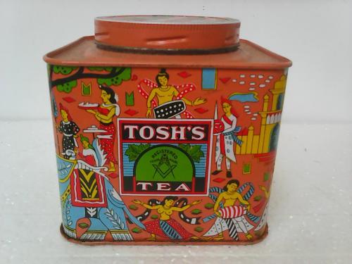 Чай коробка TOSH'S TEA Индия, эротика