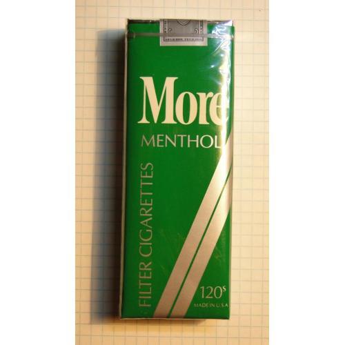 Сигареты MORE MENTHOL 120s USA