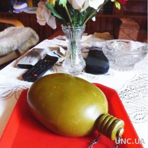 Фляга армейская (солдатская). СССР