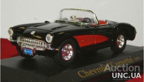 Модель Chevrolet Corvette 1957 г. 1:43.