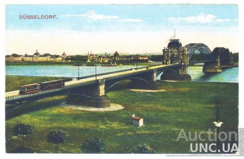 Открытка (ПК). Дюссельдорф. Веймарская республика. 1920г. Лот 66
