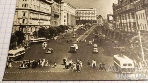 Открытка (ПК). Москва. Театральный проезд.  Лот 251