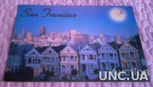 Открытка (ПК). США. Сан-Франциско. Лот 211