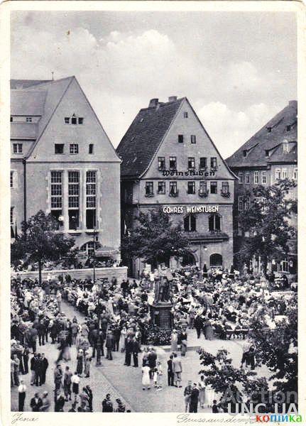 Открытка (почтовая карточка).1937г. Германия. Йена