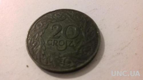 Монеты Польши 1923 г. цинк