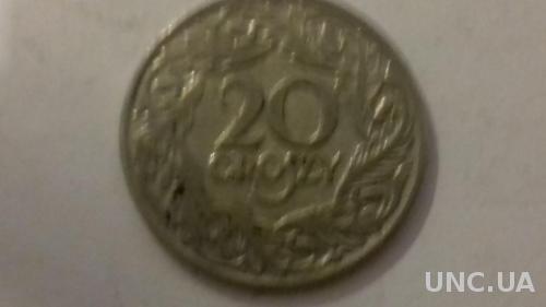Монеты Польши 1923 г. никель
