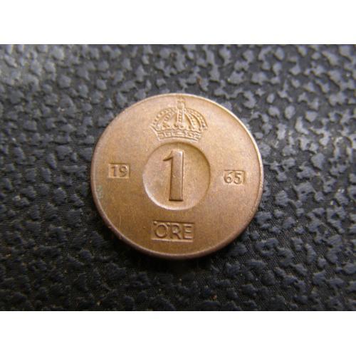 1 эре 1965 г Швеция