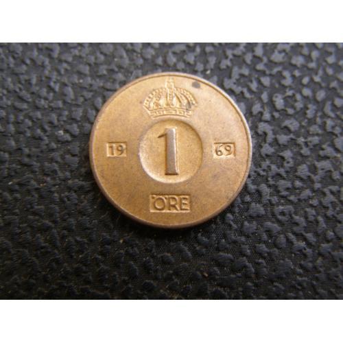 1 эре 1969 г Швеция