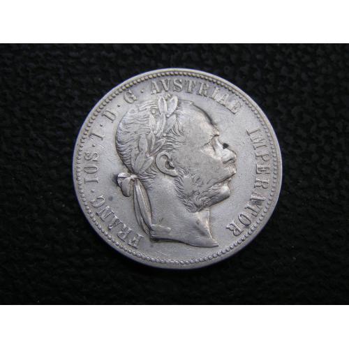 1 флорин 1880 г Австро-Венгрия