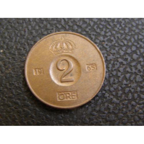 2 эре 1965 г Швеция