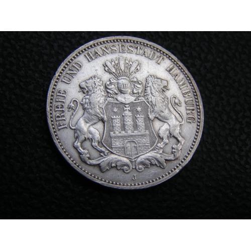 3 марки 1911 J. Гамбург