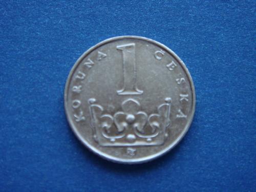 Чехия, 1 крона, 1995 г.
