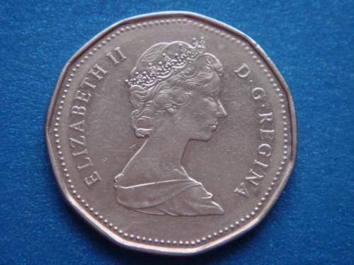 Канада, 1 доллар 1989 г.