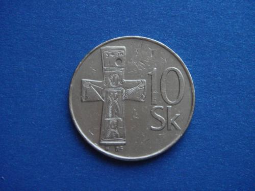Словакия, 10 крон 1994 г.