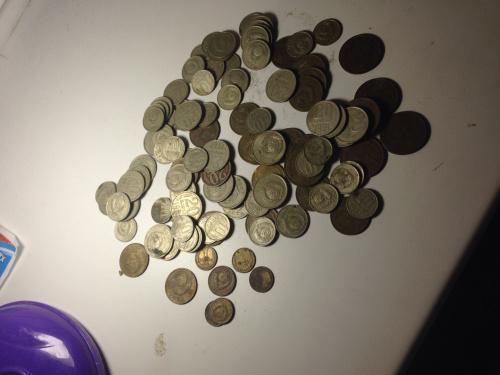 Монети ссср от 1 копейки до 20