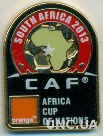 Африка, Кубок Наций 2013 (ЮАР), ЭМАЛЬ / Africa Cup of Nations football pin badge