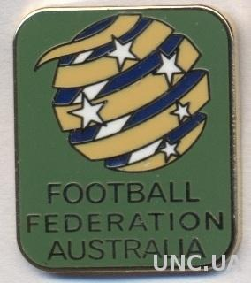 Австралия, федерация футбола,№6, ЭМАЛЬ / Australia football federation pin badge