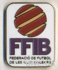 Балеарские О-ва,федер.футбола (не-ФИФА) ЭМАЛЬ / Balearic football federation pin
