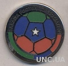 Барава, федерация футбола (не-ФИФА) ЭМАЛЬ / Barawa football federation pin badge