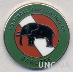 Баротселенд, федер.футбола (не-ФИФА) ЭМАЛЬ / Barotseland football federation pin