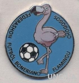 Бонэйр, федерация футбола,№5 ЭМАЛЬ /Bonaire football federation enamel pin badge
