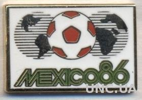 Чемпионат Мира 1986 (Мексика), ЭМАЛЬ / World cup 1986 Mexico football pin badge