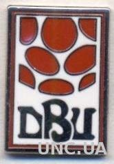 Дания, федерация футбола,№4 ЭМАЛЬ / Denmark football federation enamel pin badge