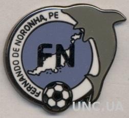 Фернанду*,федер.футбола (не-ФИФА) ЭМАЛЬ / Fernando de Noronha football feder.pin