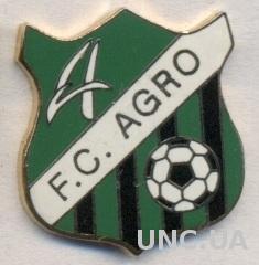 футбол.клуб Агро (Молдова), ЭМАЛЬ / FC Agro Chisinau, Moldova football pin badge