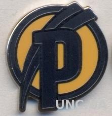 футбол.клуб Академия Пушкаша(Венгр.)2 ЭМАЛЬ /Puskas Academy,Hungary football pin
