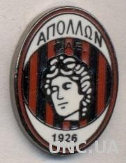 футбол.клуб Аполлон Салоники(Греция)ЭМАЛЬ /Apollon Kalamaria,Greece football pin