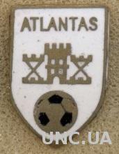 футбол.клуб Атлантас (Литва)3 ЭМАЛЬ / Atlantas Klaipeda,Lithuania football badge