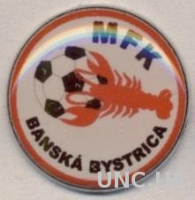 футбол.клуб Банска-Быстрица(Словакия) тяжмет /MFK Banska B,Slovakia football pin