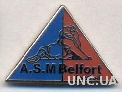 футбол.клуб Бельфор (Франция), ЭМАЛЬ / ASM Belfort FC, France football pin badge