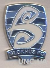 футбол.клуб Блокхус (Дания) ЭМАЛЬ / Blokhus FC,Denmark football enamel pin badge