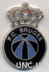футбол.Клуб Брюгге (Бельгия)5 ЭМАЛЬ / Club Brugge KV, Belgium football pin badge