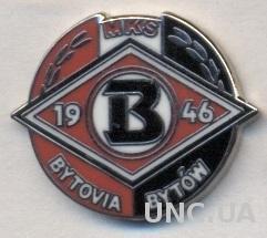 футбол.клуб Бытовия (Польша) ЭМАЛЬ / MKS Bytovia Bytow,Poland football pin badge