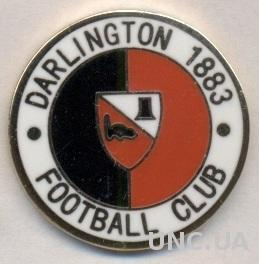 футбол.клуб Дарлингтон (Англия) ЭМАЛЬ / Darlington FC,England football pin badge