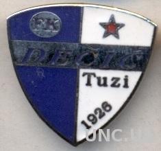 футбол.клуб Дечич (Черногория) ЭМАЛЬ / Decic Tuzi, Montenegro football pin badge
