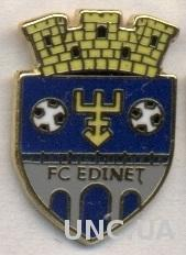 футбол.клуб Единец (Молдова) ЭМАЛЬ / FC Edinet,Moldova football enamel pin badge