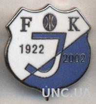 футбол.клуб Единство (Черногория) ЭМАЛЬ /Jedinstvo Bijelo Polje,Montenegro badge