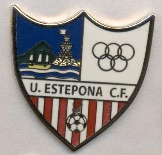 футбол.клуб Эстепона (Испания), ЭМАЛЬ / U.Estepona CF, Spain football pin badge