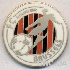 футбол.клуб ФК Брюссель (Бельгия) ЭМАЛЬ / FC Brussels,Belgium football pin badge