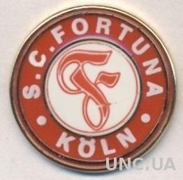 футбол.клуб Фортуна Кельн (Германия) ЭМАЛЬ /SC Fortuna Koln,Germany football pin