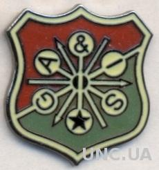 футбол.клуб ГАИС Гетеборг (Швеция)ЭМАЛЬ /GAIS Goteborg,Sweden football pin badge