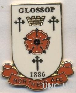 футбол.клуб Глоссоп (Англия) ЭМАЛЬ / Glossop North End AFC, England football pin